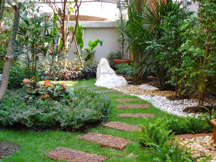 สวนดอกไม้สไตล์ไทย